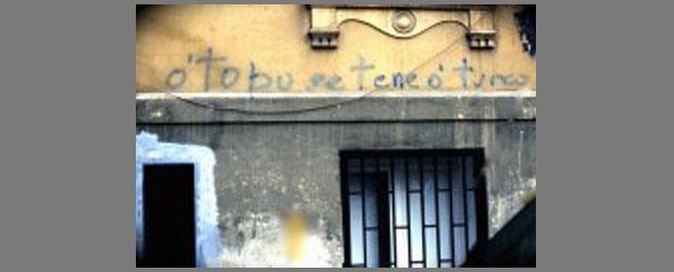 O topo se t ne 39 o turco scritte sui muri a napoli - Scritte sui muri di casa ...